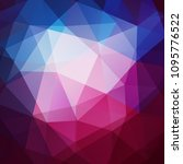 colorful geometric background... | Shutterstock .eps vector #1095776522