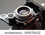 An Old Camera Lens Close Up....