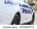 laval  quebec  canada  may 19 ... | Shutterstock . vector #1095809972