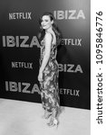 Small photo of New York, NY - May 21, 2018: Gillian Jacobs wearing dress by Brock attends screening of Netflix film Ibiza at AMC Loews Lincoln Center