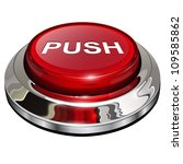 push button  3d red glossy... | Shutterstock .eps vector #109585862