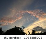the evening view | Shutterstock . vector #1095885026
