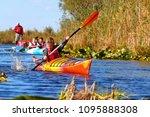 Danube River  Ukraine   Octobe...