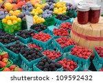 Berries And Preserves At...