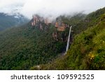 Waterfall In Blue Mountains...