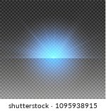 glow isolated white transparent ... | Shutterstock .eps vector #1095938915