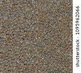 pebble or shingle seamless... | Shutterstock . vector #1095962066
