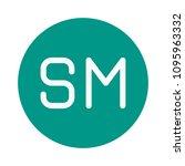 social media network | Shutterstock .eps vector #1095963332
