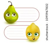 vector hang tag labels or... | Shutterstock .eps vector #1095967832