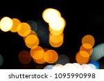 blurred of bokeh for background.... | Shutterstock . vector #1095990998