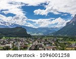 view of the alps mountains from ... | Shutterstock . vector #1096001258