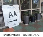 Small photo of AUCKLAND - MAR 19 2018:Alcoholics Anonymous meeting place.AA is an international aid fellowship whose stated purpose is to enable its members to stay sober and help other alcoholics achieve sobriety