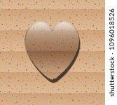 glass heart vector illustration   Shutterstock .eps vector #1096018526
