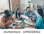 seminar instruction show idea... | Shutterstock . vector #1096028462