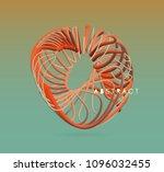 vector art illustration.... | Shutterstock .eps vector #1096032455
