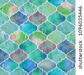 vintage decorative moroccan... | Shutterstock . vector #1096035446