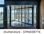 front revolving transparent...   Shutterstock . vector #1096038776