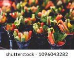 beautifully decorated catering... | Shutterstock . vector #1096043282