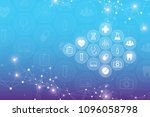 abstract medical background... | Shutterstock .eps vector #1096058798