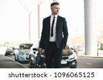 handsome mature businessman... | Shutterstock . vector #1096065125