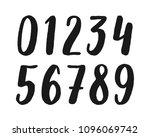 vector set of hand drawn... | Shutterstock .eps vector #1096069742