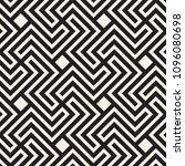vector seamless pattern. modern ... | Shutterstock .eps vector #1096080698