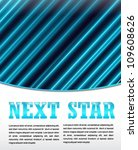 neon next star   web and print... | Shutterstock .eps vector #109608626