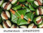 jadah tempe  traditional... | Shutterstock . vector #1096093595