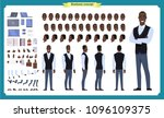 people character business set.... | Shutterstock .eps vector #1096109375