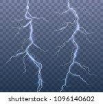 vector realistic set of... | Shutterstock .eps vector #1096140602