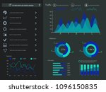 infographic elements collection ... | Shutterstock .eps vector #1096150835