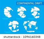 continental drift. vector...   Shutterstock .eps vector #1096160348
