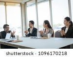 groups of business  are... | Shutterstock . vector #1096170218