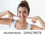 shot of pretty young woman with ...   Shutterstock . vector #1096178078