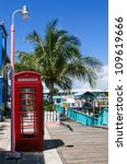 Phone Booth Situated On The...