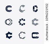 vector letter c logo template...   Shutterstock .eps vector #1096221932