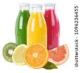 juice smoothie fruit smoothies... | Shutterstock . vector #1096236455