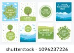 world environment day. vector... | Shutterstock .eps vector #1096237226