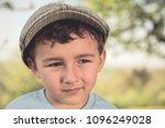 child kid little boy portrait... | Shutterstock . vector #1096249028