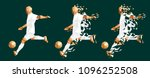 vector illustration soccer... | Shutterstock .eps vector #1096252508