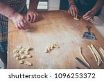 process making of typical...   Shutterstock . vector #1096253372