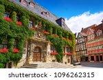 rathaus quedlinburg facade in... | Shutterstock . vector #1096262315