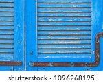 background of old grunge wooden ... | Shutterstock . vector #1096268195