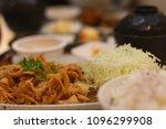 eat delicious food   Shutterstock . vector #1096299908