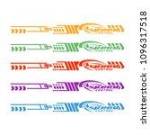 vinyls   decals for car modif ... | Shutterstock .eps vector #1096317518