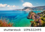 stunning spring view of agia... | Shutterstock . vector #1096322495
