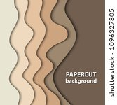 vector background with brown... | Shutterstock .eps vector #1096327805