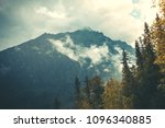 mysterious landscape the dense... | Shutterstock . vector #1096340885