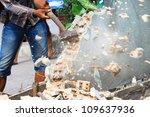 Hammer Breaking Wall
