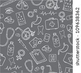 vector doodle seamless